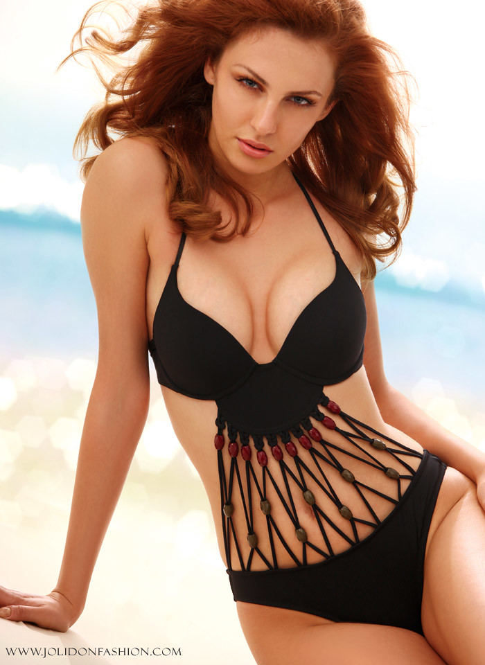 a50747810a Sexy Black Push Up Monokini One Piece Swimsuit by jolidon - 2012 Swimwear  Collection (AndraNovac