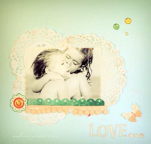 scrap sister love