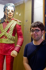 greg with marzipan michael Jackson