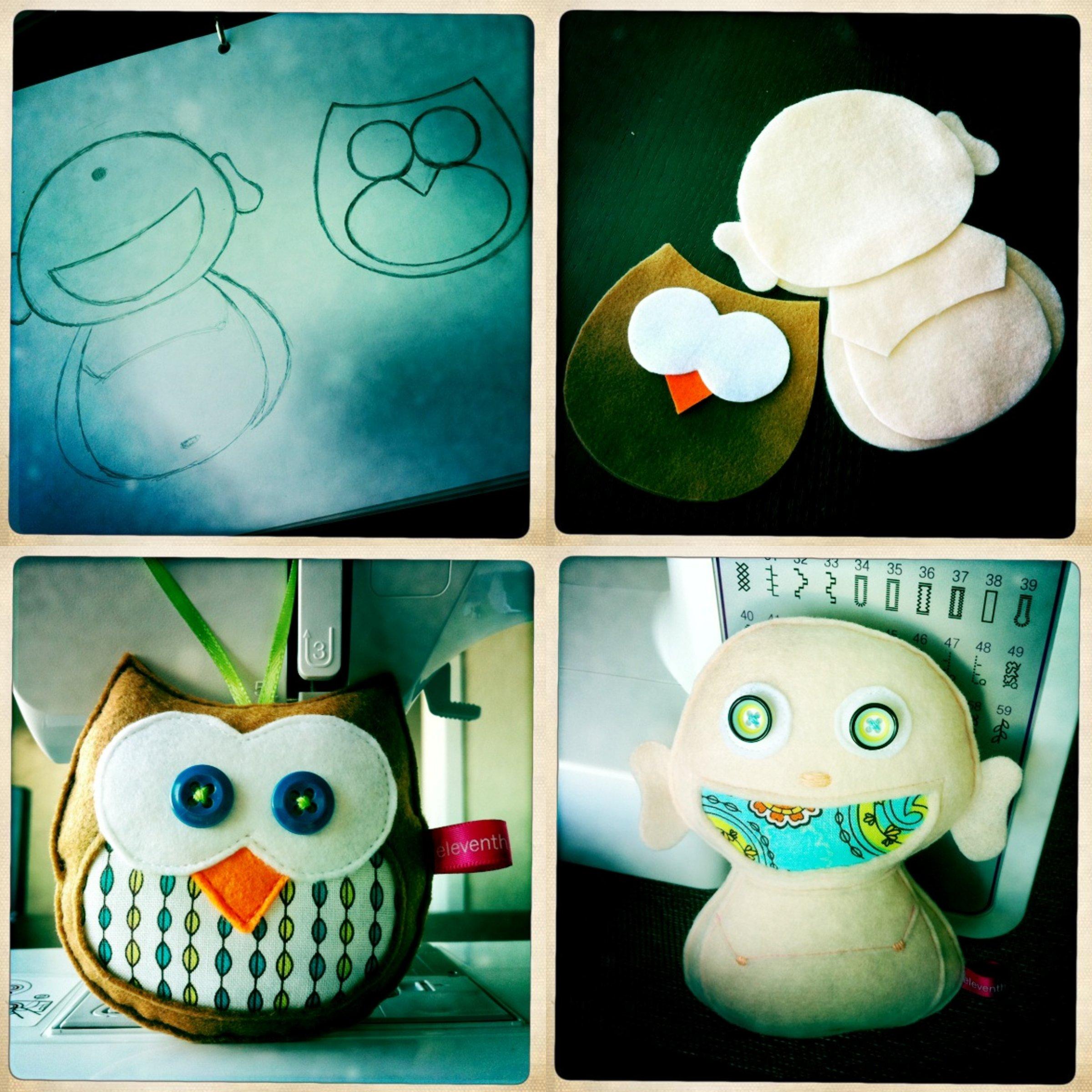 Buddha & Owl