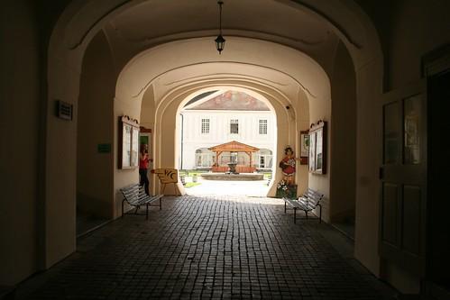 Entada al casitllo de Svätý Anton