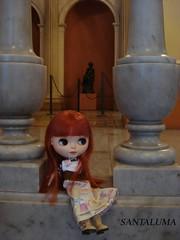 Adoro este Museu, diz Aisha!!