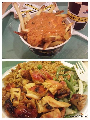 Day 275 - NewYork Butter Chicken Fries and Bourbon Chicken