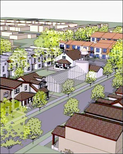 Miraflores (rendering by Gonzales Architects for Richmond Community Redevelopment Authority & US EPA)