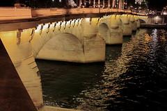 Paris pour la nuit 3 (Hlder Cotrim) Tags: paris france rio seine night canon noche nacht frana rivire ponte noite nightphoto nuit pontneuf nocturno sena iledelacit  photodenuit