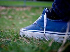 Off The Wall (Samantha Warren Photography) Tags: park sculpture wall nikon shoes d yorkshire 28mm off vans nikkor f28 d300