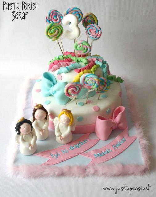melek- şeker pastası