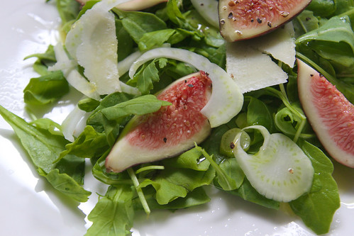 arugula fennel & fig salad