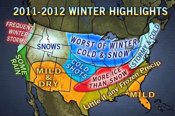Accuweathers Winter 2011-12 Forecast (Published 10/5)
