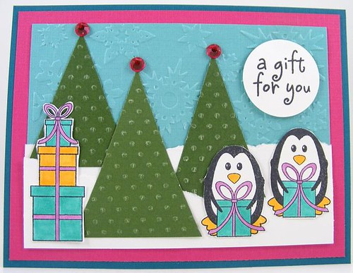 SOL October Gift Penguins Card
