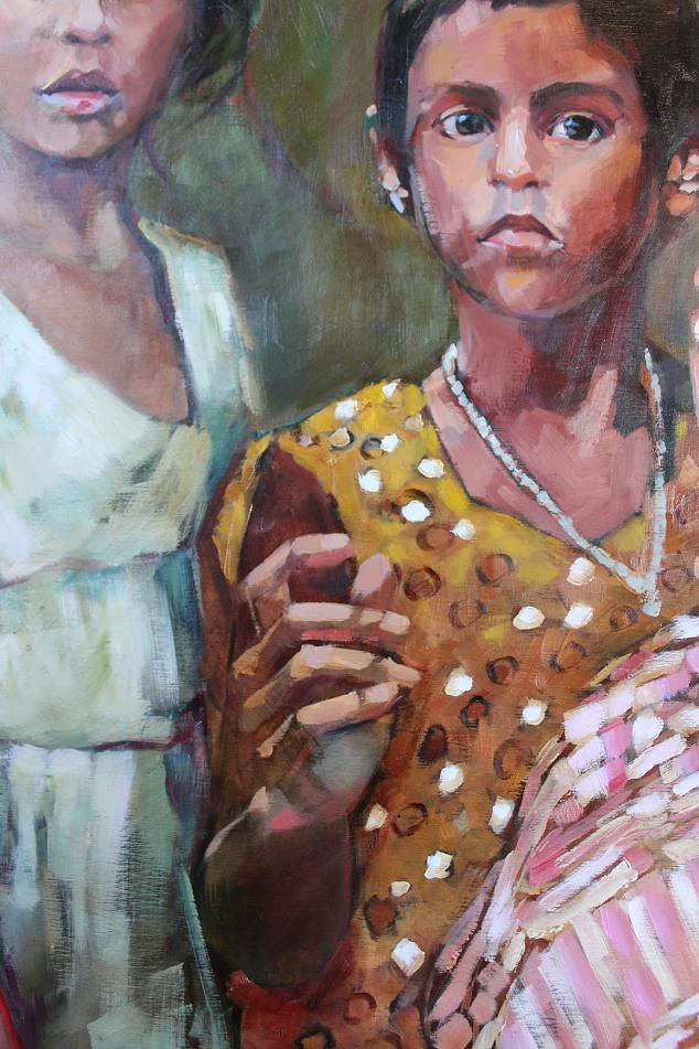 Untitled (Children of Bangladesh) detail 2