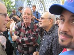 Foley Sq. Henry Hills, Bruce Andrews, Charles Bernstein, Jim Behrle (Chomp Away) Tags: st wall march sq foley occupy