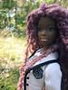 p197 (Alrunia) Tags: dreadlocks doll ooak barbie yarn asha dreads fashiondoll mattel aa shani reroot caligirl restyle 16thscale playscale