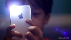 The iPhone Kid (Khalid Al-Aydeross) Tags: boy apple mac child muslim middleeast arab saudi stevejobs tribute jeddah saudiarabia khalid ksa iphone jiddah alleviatedmedia khalidalaydeross