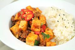 Spicy stir-fry tofu [Mapa Dubu]