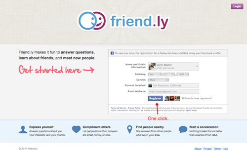 Friend.ly facebook