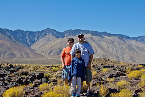 My guys at Fossil Falls