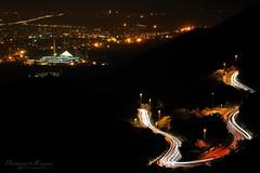 Light Streaks! (Usman Hayat) Tags: light nikon mosque nikkor streaks faisal hayat islamabad usman d5100 uhayat