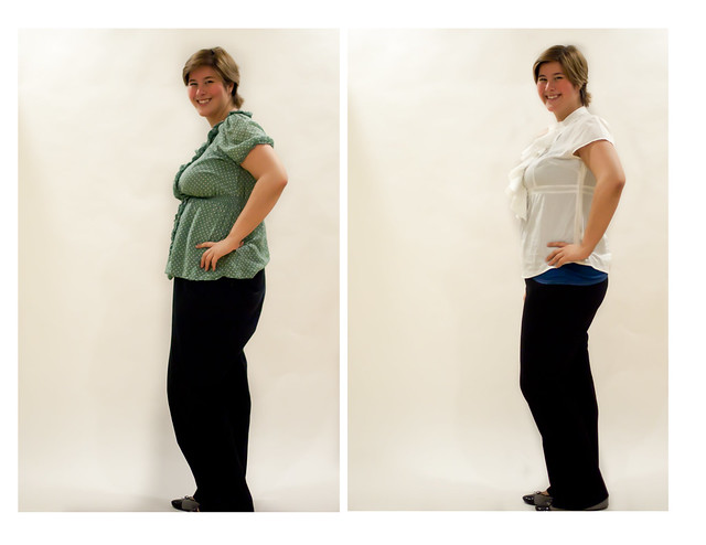 Blouse + Pants Side View