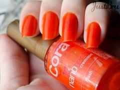 Flash - Cora (brunajust) Tags: flash unhas cora esmaltes esmalte