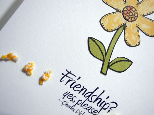 Friendship?  Yes, please!  (detail)