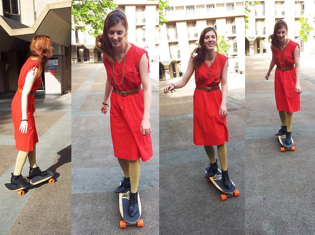 skateboarding!