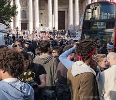We Are The 99% (louisberk.com) Tags: city london october protest stpauls 99 firstday financial crisis stockexchange demonstrators demonstrate ludgatehill occupylondon occupylsx leicacameraagm8digitalf13iso160gupr