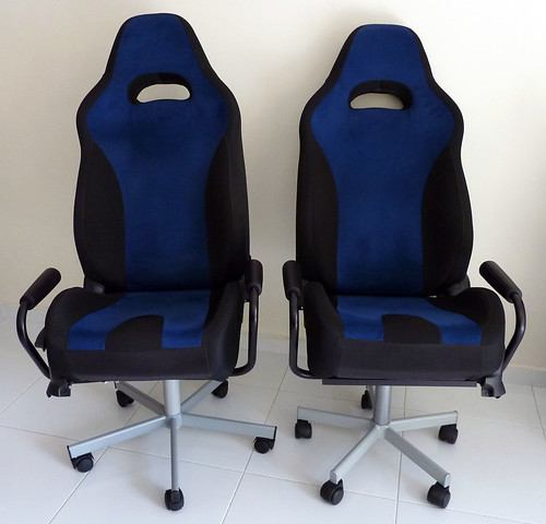 heres what they look like after the conversion theyre by no means perfect but maybe those of you who would undertake this endeavour in future could car seats office chairs