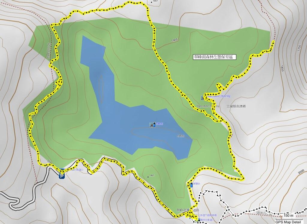 2011-9-10 翠峰湖map