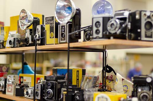 297:365 Vintage camera graveyard