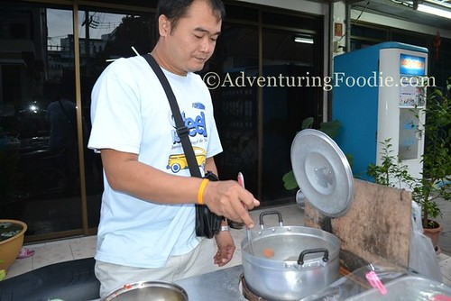 Street food vendor in Pattaya