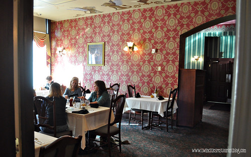 Red Room at Charlie's Restaurant ~ Stillwater, MN