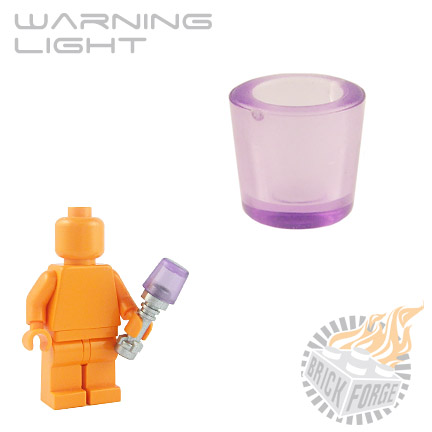 Warning Light - Trans Purple
