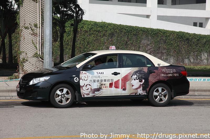 澳門計程車 Macau Taxi