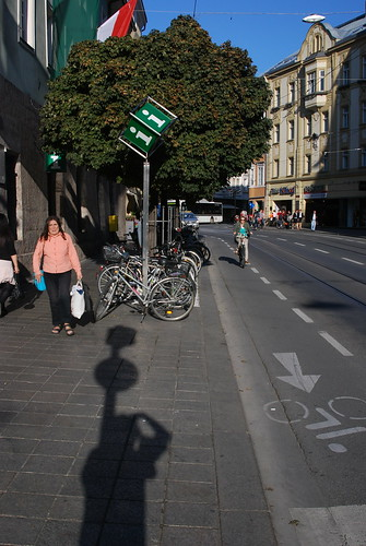 Innsbruck cycle infrastructure
