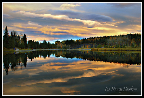 Evening Reflections by Nancy Hawkins