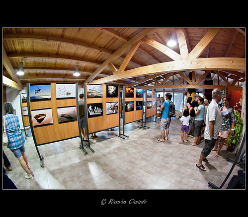 Inaguracion de la Exposicion Mirades de Tarragona en L'Ametlla de Ma