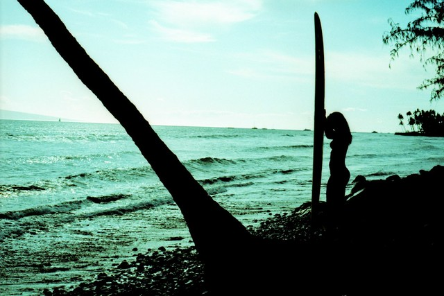 Maui Girl Silhouette, 2011