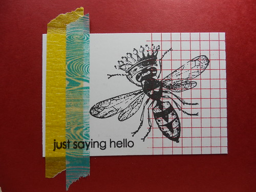 Washi Tape Card 1 by Tammy Ozuna