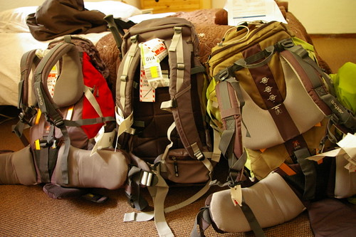Returning bags