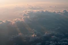 ANA NH176 機内からの眺め (GenJapan1986) Tags: 全日空 2011 飛行機 ana travel 旅行 sky 空 nh176 夕焼け airplane nikond90