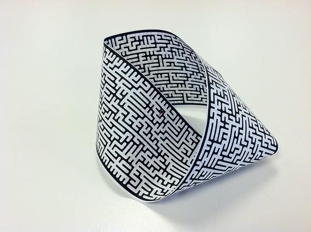 A mobius maze