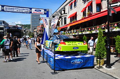 Ford Racing 2011 sur Crescent (abdallahh) Tags: ford festival montral racing crescent qubec 2011