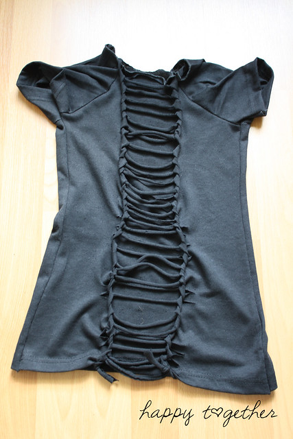 transform fashion for kids: t-shirt weaving diy