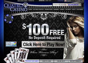 Quatro Casino Home