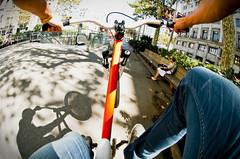 5 / 365 project (Macpic_s) Tags: barcelona men wheel nikon ride jean d young s fisheye jeans converse 300 105 nikkor levis velo wheeling barcelone specialized 300s d300s flickrunitedaward