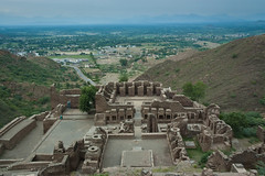 Takht-i-Bahi - Day 10/365 (Haroon Mustafa) Tags: pictures old travel pakistan sky india mountains art heritage tourism archaeology architecture clouds buildings lost high ancient education nikon ruins asia stream king view buddha balcony stupa buddhist muslim islam religion north masonry d70s culture royal buddhism front hills monastery monks civilization peshawar walls budha mustafa archaeological survey archeology sculptures monastry greeks haroon wfp monestry spritual budh gandhara bahi mardan bushist takh texila nerwana takhibahi oldchrist