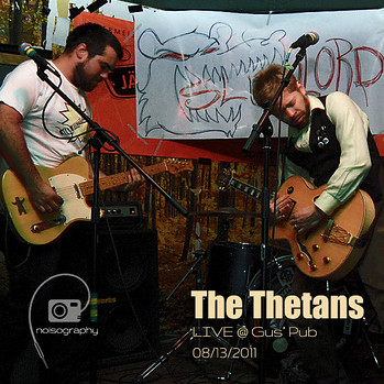 The Thetans LIVE @ Gus' Pub - Noisography Live Concert Series