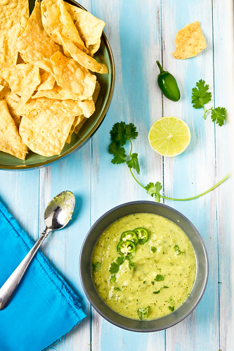 Houston-Style Green Salsa from The Homesick Texan Cookbook