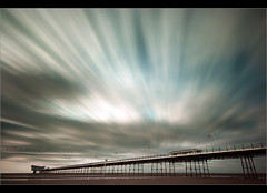 Pier pressure 1...... (Chrisconphoto) Tags: longexposure clouds canon pier movement sigma filter le nd southport weldingglass liverpoolmeetupgroup
